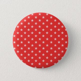 Pin's Pavot étoiles rouges et de blanc