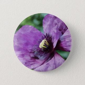 Pin's Pavot violet