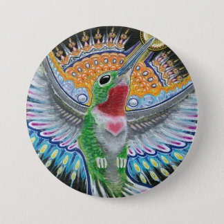 """Pin's Peinture de colibri de Beija Flor (""""museau de"""