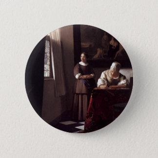 Pin's Peinture néerlandaise de Vermeer d'artiste