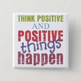 Pin's Pensez le positif