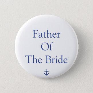 Pin's Père des boutons nautiques de mariage de jeune