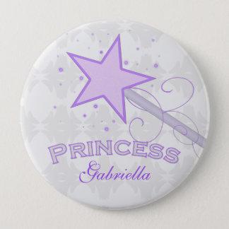 Pin's Personnalisé : Princesse pourpre Wand Button