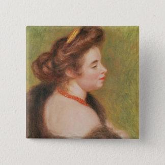 Pin's Pierre un portrait de Renoir   de Mme. Maurice