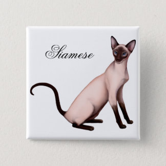 Pin's Pin amical de chat siamois