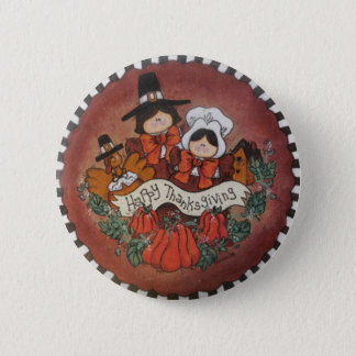Pin's Pin de bouton de bon thanksgiving