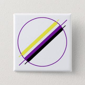 Pin's Pin de fierté de Nonbinary