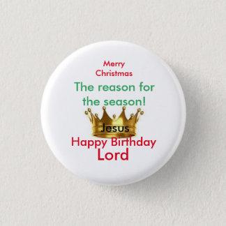 Pin's Pin de Joyeux Noël rond