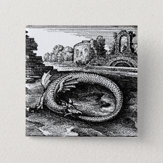 Pin's Pin-de retour de serpent d'Ouroboros
