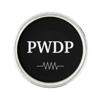 Pin's Pin rond de revers de résistance de PWDP
