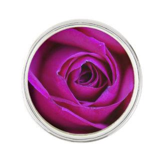 Pin's Pin rose de revers