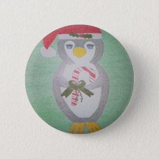 Pin's Pingouin mignon de Noël
