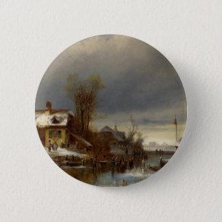 Pin's Plaisir d'hiver - Wintervergnugen