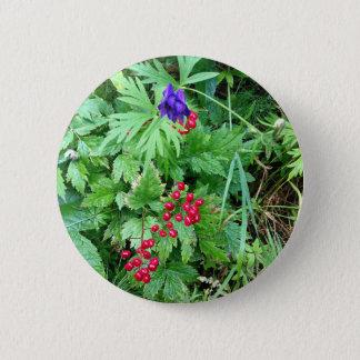 Pin's Plantes à la butte pionnière Alaska d'automnes