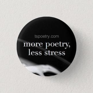 Pin's Plus de poésie, moins d'effort peut se boutonner