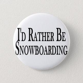 Pin's Plutôt fasse du surf des neiges
