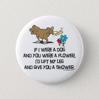 Pin's Poème drôle de chien