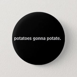 Pin's pommes de terre allant à potate.