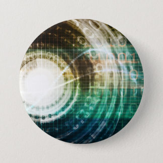 Pin's Portail futuriste de technologie avec Digitals