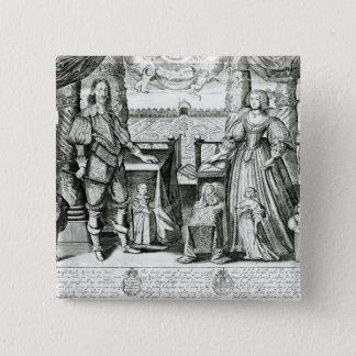 Pin's Portrait de famille de Charles I