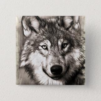 Pin's Portrait de loup