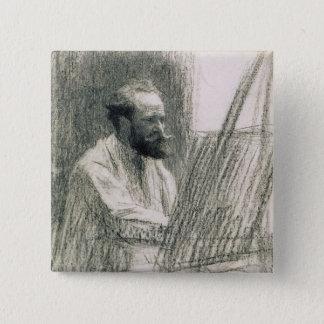 Pin's Portrait de Manet | d'Edouard Manet à son chevalet