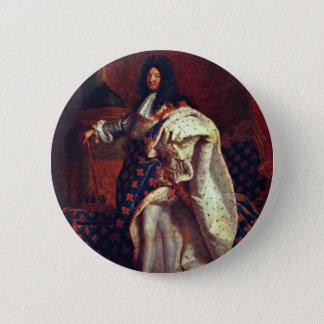 Pin's Portrait du Roi français Louis Xiv par Rigaud Hy