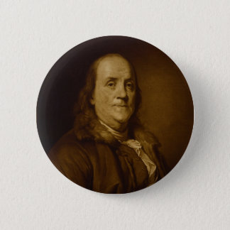 Pin's Portrait principal de Benjamin Franklin et