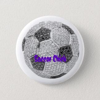 Pin's Poussin du football