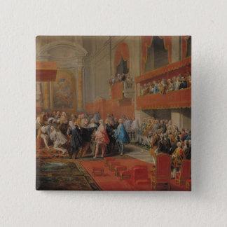 Pin's Présentation d'ordre de Saint-Esprit au prince