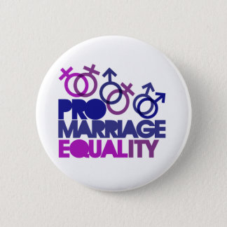 Pin's Pro égalité de mariage