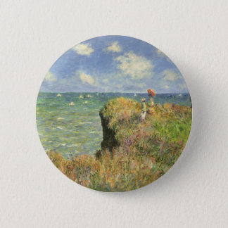 Pin's Promenade de falaise chez Pourville par Claude