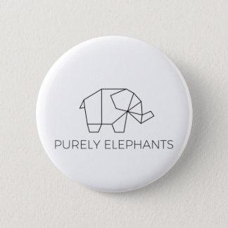 Pin's Purement bouton d'éléphants