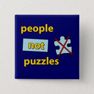 Pin's puzzles de personnes pas