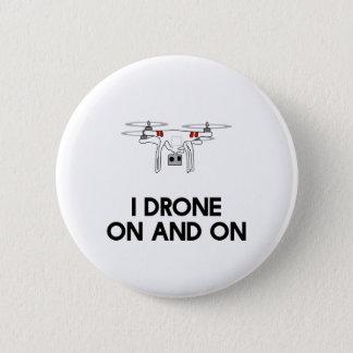 Pin's Quadcopter du bourdon I indéfiniment