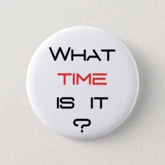 Pin's Quelle heure est-il ?