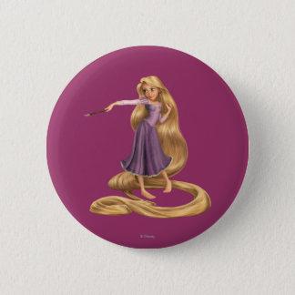 Pin's Rapunzel avec le pinceau 2