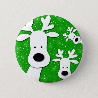 Pin's Renne de Noël - vert 2