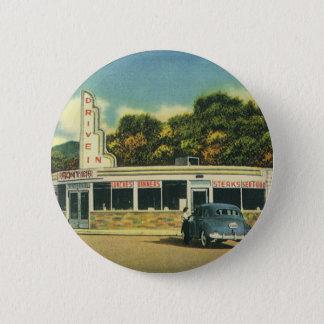 Pin's Restaurant vintage, commande de les années 50 dans
