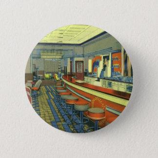 Pin's Restaurant vintage, rétro intérieur de