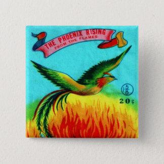 Pin's Rétro augmentation vintage de Phoenix de pétard de