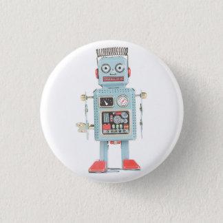 Pin's Rétro bouton de robot de jouet