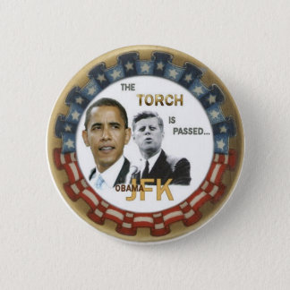 Pin's Rétro bouton d'Obama/JFK
