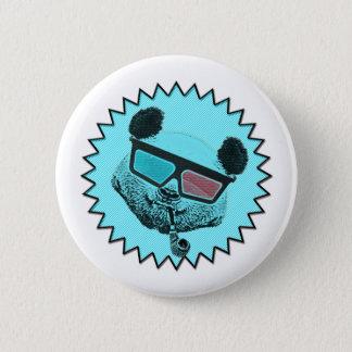 Pin's Rétro panda drôle