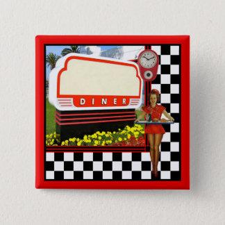 Pin's rétro wagon-restaurant de les années 50