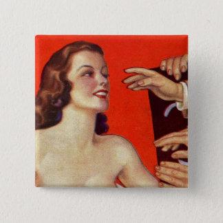 Pin's Rétros mains surréalistes vintages de grippage du