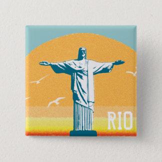 Pin's Rio - Corcovado - Jésus-Christ le rédempteur