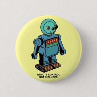 Pin's Robot non inclus à télécommande