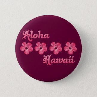 Pin's Rose Aloha Hawaï