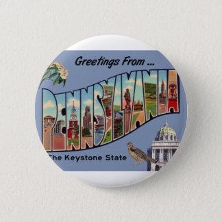 Pin's Salutations de Pennsylvanie